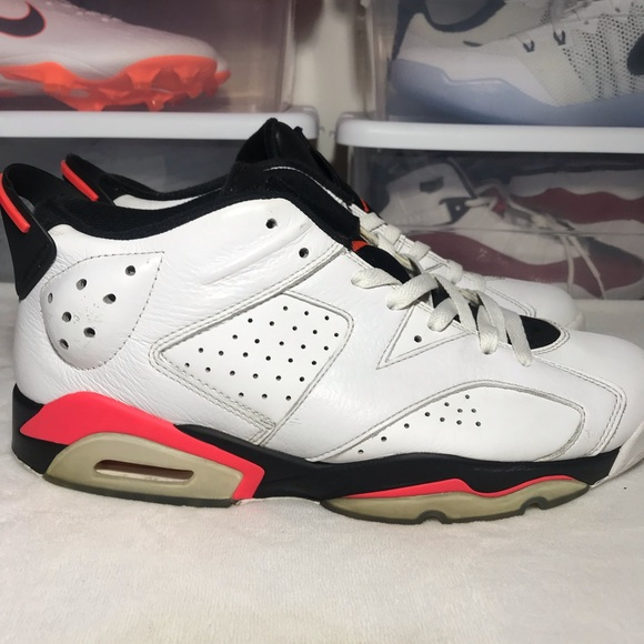 wholesale dealer 51c70 14f33 Nike Air Jordan 6 VI Retro Low Infrared
